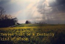 Ky Girl ❤️ / No matter where I roam Ky will always be home  / by Michelle Ferguson