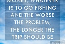Fishing = happiness