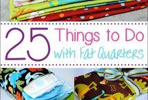 fat quarter sewing