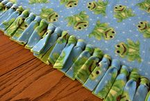 No Sew Fleece Blankets / by Mary Stocum