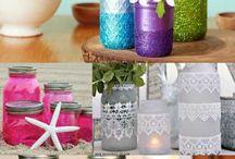 Craft / Painting jars etc