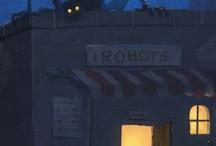 ROBOTS+SHIPS / by Francisco Moreno