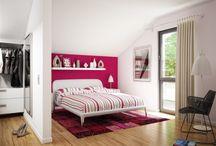 Schlafen   Bedroom / Jetzt wird es kuschlig: Unser Wohnkonzepte für das Schlafzimmer eines Bien-Zenker Fertighauses.