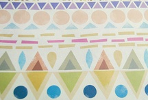 DESIGN // pattern play / by Jenn Schrimper