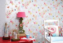 Wallpapers Making a Comeback! / by Rebecca Hitlin-Newton