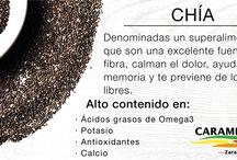 Nuts and seeds / Semillas y frutos secos caramelizados y naturales