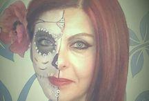 makeup skeleton Olympia