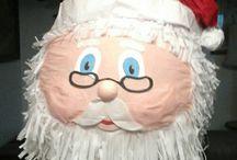 navidad piñatas