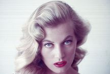 Iconic Retro Glamour / Timeless beauties from the past whose glamour and style continue to inspire / by Melissa Brunet