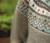 jakker strikket