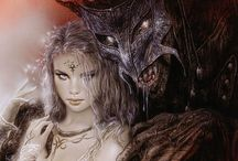 Demons and women... Luis Royo and co