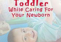 toddler vs newborn
