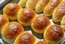 yumuşak ekmekler