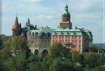 Książ Castle / KSIĄŻ is a castle in Silesia, Poland in Wałbrzych. It was built in 1288-1292 under Bolko I the Strict. It lies within a protected area called Książ Landscape Park.