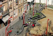 plazas públicas