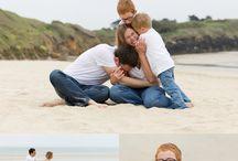 photo  famille a la mer