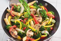 Vegetable Dishes / Veggies.