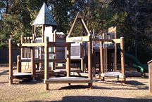 Playgrounds / Playgrounds: Designed and spontaneous