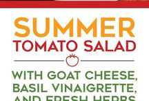 Tomatoe goat cheese