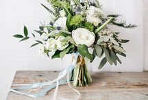 Wedding inspiration - white and green
