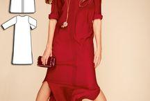 бурда платье