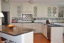 White Cabinetry & Granite Countertops / A White Cabinetry & Granite Countertops Project We Did In Southwest Florida