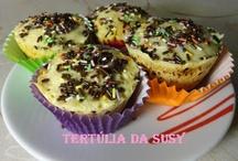 Queques, Muffins e Cupcakes / http://tertuliadasusy.blogspot.pt/p/receitas.html