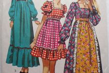 Vintage big size fashion
