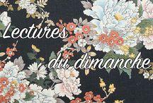 Lectures du Dimanche / lecture, numérique, art, médiation, femme, innovation, culture
