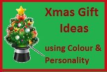 Xmas Gift Ideas / Personalise your Xmas Gifts by choosing gifts that complement the receiver's individual colouring and personality.  It's the best compliment you can give and one they will remember for a long time. #xmas #women #gifts #ideas