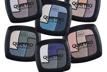 Quattro Colors / Cienie Quattro Eyeshadow Zestaw kompaktowych cieni do powiek z jedwabiem i kolagenem.  #WIBO #eyeshadow #makeup #quattro #colors
