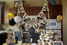 Welcome home party ideas / by Robbi Lungu-Rogers