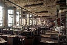 Old clothing factories