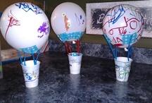 hot air ballon]
