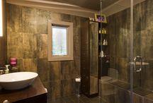 KKD: Bath / KKD designed bathrooms throughout a variety of homes