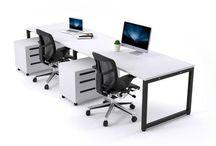 JasonL 2 Person Run Workstations / JasonL stocks the best Modern Ergonomic Workstations with the highest commercial quality.