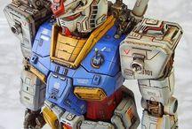 modelo de Gundam