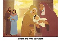 Simeon and Anna Saw Jesus Bible Activities / When Joseph and Mary took the baby Jesus to the temple to be dedicated, there were two older people there, Simeon and Anna, who had been waiting to see the long-awaited Messiah. The recognized Jesus as the one for whom they were waiting. These Bible activities for children will help kids learn about this event and see that Jesus was the promised Messiah of the Old Testament.