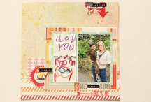 Scrapbooking - My Projects / Scrapbook layouts and mini albums I created. / by Heather Vo