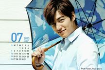 Lee Min Ho for Calendar