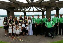 Bridal Party Photos at The Oaks