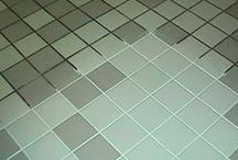 grout cleaning on tiles