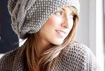 шапка бини с косой