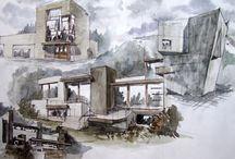 Landscape (&) Architecture sketches