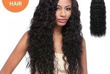 Brazilian human hair / Brazilian human hair solution for women's
