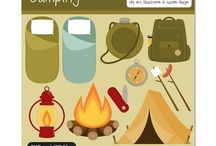 Art & Doodles - Camping/Outdoorsy / by Heather R