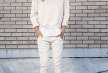 Casual white inspiration
