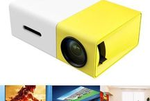 LumiHD High-Resolution Ultra-Portable 1080p LED Mini Projector #gadget #miniprojector #amazon #ebay