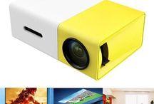 LumiHD High-Resolution Ultra-Portable 1080p LED Mini Projector #gadget #miniprojector #amazon #ebay
