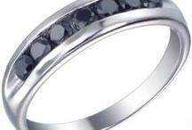 Mens Black Diamond Rings